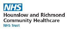 Hounslow and Richmond NHS logo