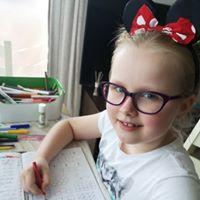 Gabi writing photo April 20 9