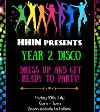Year 2 Disco for post